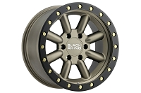 6x139.7mm Bolt Pattern Black Rhino Hachi 18x9