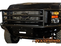 2008-2010 F250 & F350 ADD Rancher Winch Mount Front Bumper