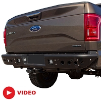 2015-2019 F150 & Raptor ADD Venom Rear Off-Road Bumper for Sensors