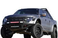 10-14 SVT Raptor ADD Stealth Fighter Front Bumper