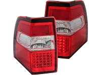 2007-2013 Expedition ANZO LED Taillights with Red Lenses