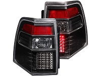 2007-2016 Expedition ANZO LED Taillights with Black Housings