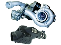2008-2010 F250 & F350 6.4L BD Diesel Twin Turbocharger and Intake System Kit