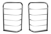 2009-2014 F150 Black Horse Taillight Guards (Polished)