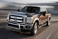 2011-2016 F250 & F350 Black Horse Off-Road Polished Bull Bar w/ Skid Plate