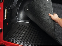 2015-2018 F150 5.5ft Bed BedRug Mat for Drop-In Bed Liners
