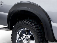 2017-2019 F250 & F350 Bushwacker Extend-a-Fender Extra Wide Rear Fender Flares (2 pc.)