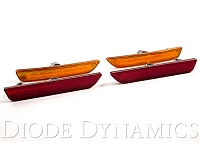 2010-2014 Mustang Diode Dynamics LED Side Marker Kit (Amber & Red)