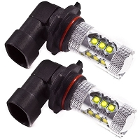 2005-2012 Mustang GT Diode Dynamics LED Fog Lights (Set of 2)