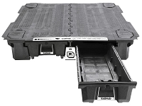 2017-2019 F250 & F350 DECKED Truck Bed Organizer (6-3/4ft Bed)