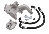 04-10 F150 Edelbrock 4WD Oil Filter Relocation Kit