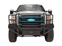 2011-2016 F250 & F350 Fab Fours Elite Front Bumper w/ Full Grille Guard
