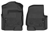 2017-2019 F250 & F350 Regular Cab Husky X-Act Contour Front Floor Mats (Black)