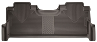 2017-2019 F250 & F350 SuperCrew Husky X-Act Contour 2nd Seat Floor Mat (Cocoa)