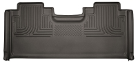 2017-2019 F250 & F350 SuperCab Husky X-Act Contour Rear Seat Floor Mat (Cocoa)