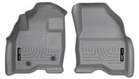 2015-2018 Explorer Husky WeatherBeater Front Floor Mats (Gray)