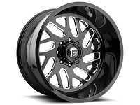 1999-2019 F250 & F350 Fuel Forged FF29 26X16 Wheel - Black & Milled