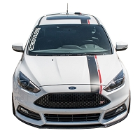2013-2017 Focus ST S3M Stripe Kit with Lettering