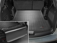 2011-2017 Explorer WeatherTech Cargo Liner w/ Bumper Protector (Behind 2nd Row) - Black