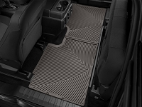 2017-2019 F250 & F350 SuperCab WeatherTech All-Weather Rear Floor Liner (Cocoa)