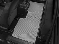 2017-2019 F250 & F350 SuperCab WeatherTech All-Weather Rear Floor Liner (Gray)