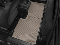 2017-2019 F250 & F350 SuperCab WeatherTech All-Weather Rear Floor Liner (Tan)