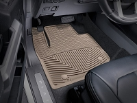 2017-2019 F250 & F350 WeatherTech All-Weather Front Floor Mats - Tan