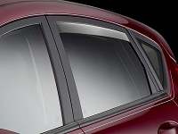 2012-2017 Fiesta WeatherTech In-Channel Rear Side Window Deflectors (Light)