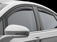 2013-2017 Fusion WeatherTech Front & Rear Side Window Deflectors (Dark)