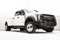 2017-2019 F450 & F550 Fab Fours Premium Winch-Ready Front Bumper with Pre-Runner Guard