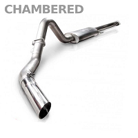 2011-2014 F150 3.5L Ecoboost Stainless Works Chambered Turbo Cat-back Exhaust