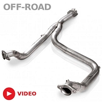 2011-2014 F150 3.5L Ecoboost Stainless Works Off-road Downpipe (Y-Pipe)