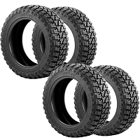 Fury Country Hunter M/T Tires (Complete Set of 4) - 37X13.50R20LT