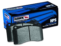 2010-2015 Taurus SHO Hawk HPS Rear Brake Pads (Pair)
