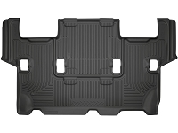 2012-2016 Ford Expedition Husky WeatherBeater 3rd Row Floor Mats (Black)
