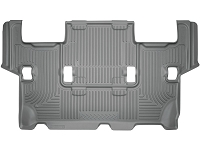 2012-2016 Ford Expedition Husky WeatherBeater 3rd Row Floor Mats (Grey)