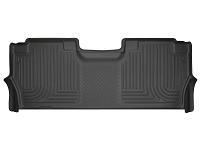 2017-2019 F250 & F350 SuperCrew Husky WeatherBeater Rear Floor Mat
