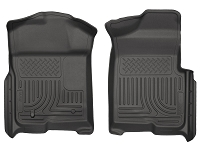 2009-2014 F150 & Raptor Husky WeatherBeater™ Front Floor Mats (Black)