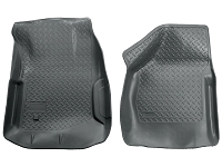 2000-2007 F250 & F350 Husky Classic Style Front Floor Mats (Gray)