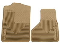 1999-2010 F250 & F350 Husky Heavy-Duty Front Floor Mats (Tan)