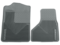 1999-2010 F250 & F350 Husky Heavy-Duty Front Floor Mats (Gray)