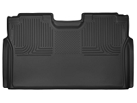 2017-2018 F250 & F350 SuperCrew Husky X-Act Contour 2nd Seat Floor Mat (Black)