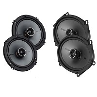 2015-2017 F150 Kicker KS Series Speaker Upgrade Package 1 (Base Audio)