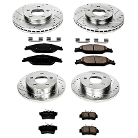 1999-2004 Mustang GT / V6 Power Stop Complete Z23 Brake Kit