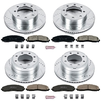 2013-2018 F250 & F350 4WD Power Stop Z23 Evolution Sport Complete Brake Kit