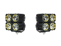 KC HiLites Quad FLEX Off-Road LED Lighting System (Pair)