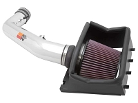 2011-2012 F150 6.2L K&N Cold Air Intake (Polished)