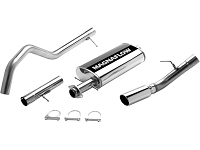 2007-2009 Expedition 5.4L Magnaflow Cat-Back Exhaust Kit (Extended Length)