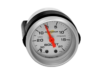 ProCharger 20 PSI Boost Gauge (Silver)