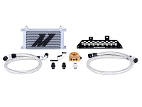 2013-2016 Focus ST 2.0L EcoBoost Mishimoto Thermostatic Oil Cooler Kit (Silver)